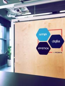 DQ&A NMPi Joystick Incubeta Logo